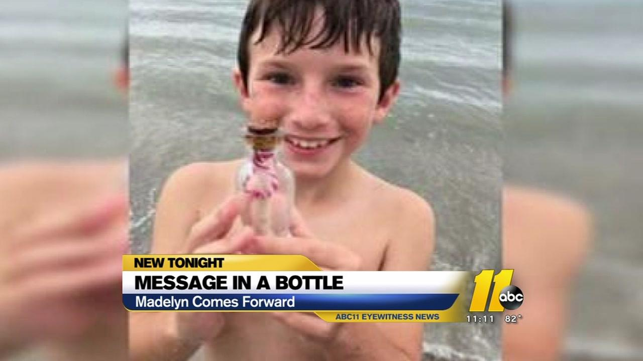 Message in a bottle mystery solved.