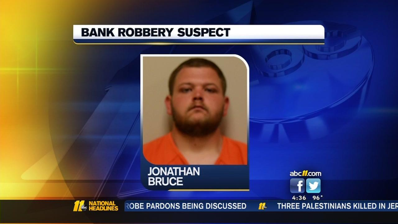 Bank robbery suspect in custody
