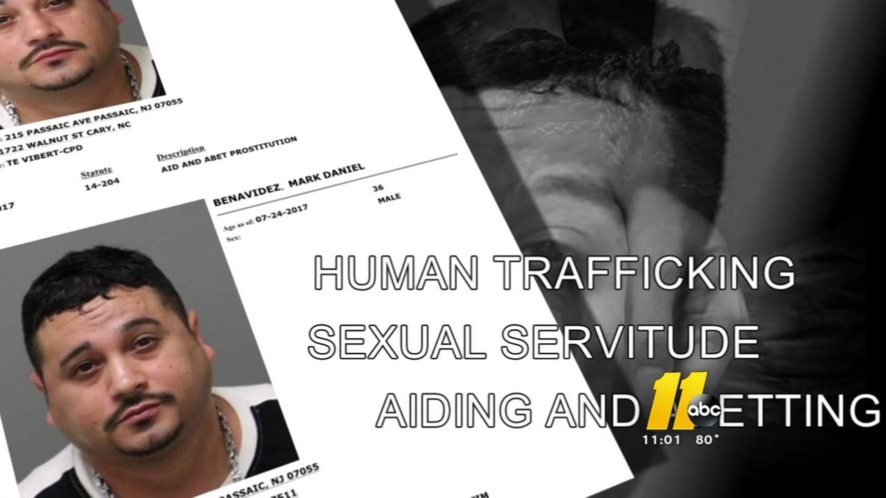New Jersey man arrested in Cary in human trafficking case