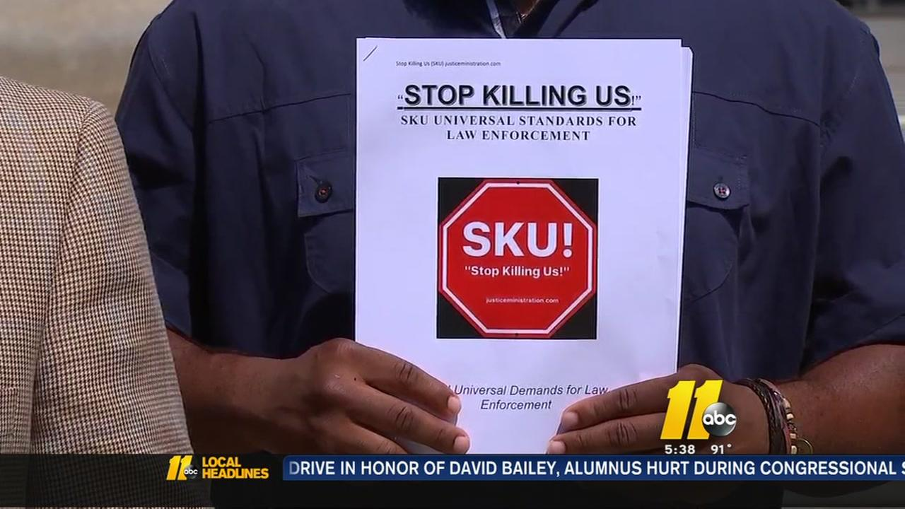 Stop Killing Us campaign takes aim at police-involved shootings