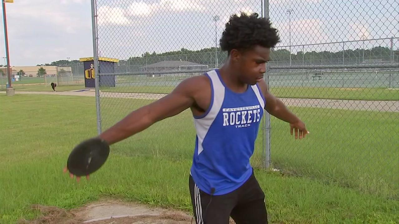 Fayetteville track star overcomes cancer