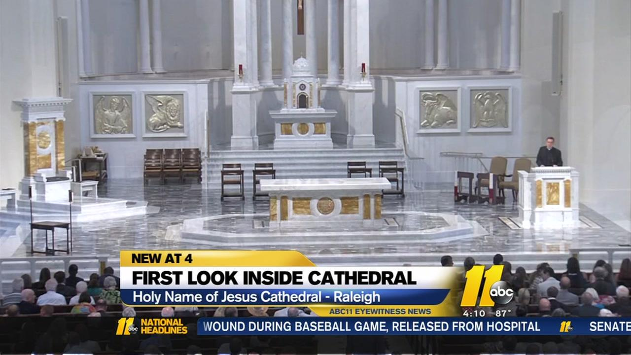 First look inside Raleighs new cathedral