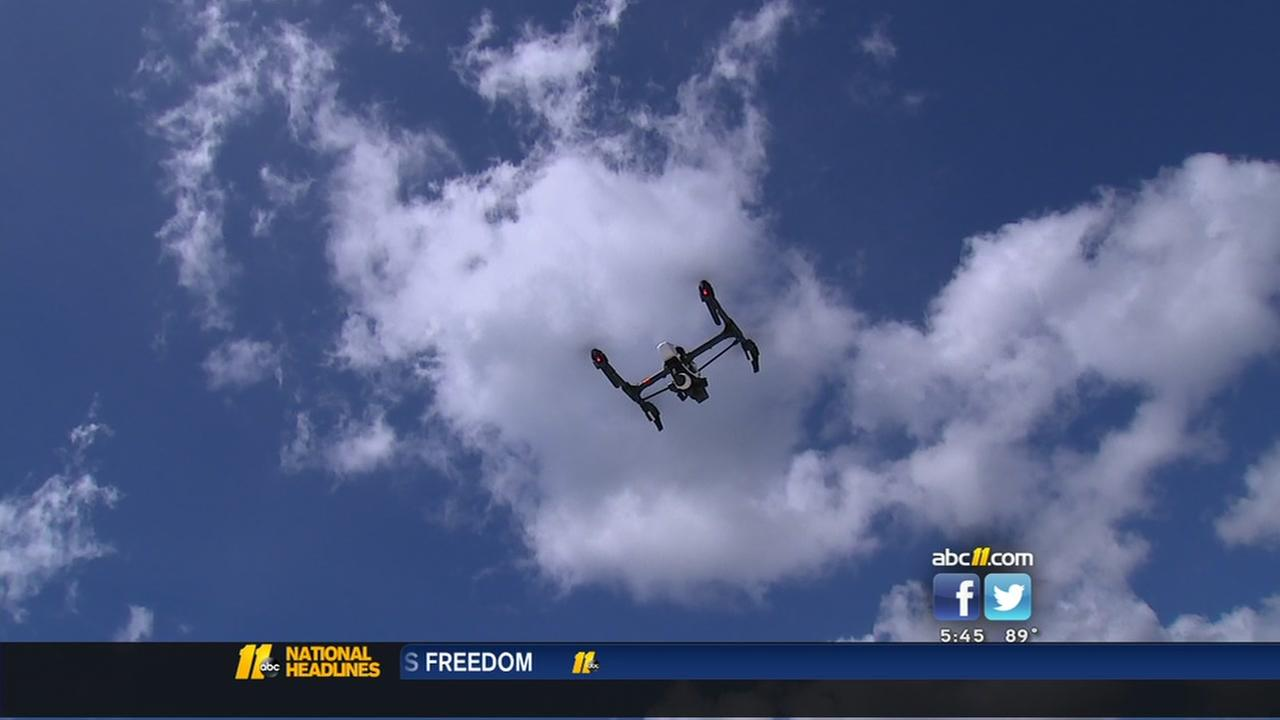 See how drones are being used to save lives