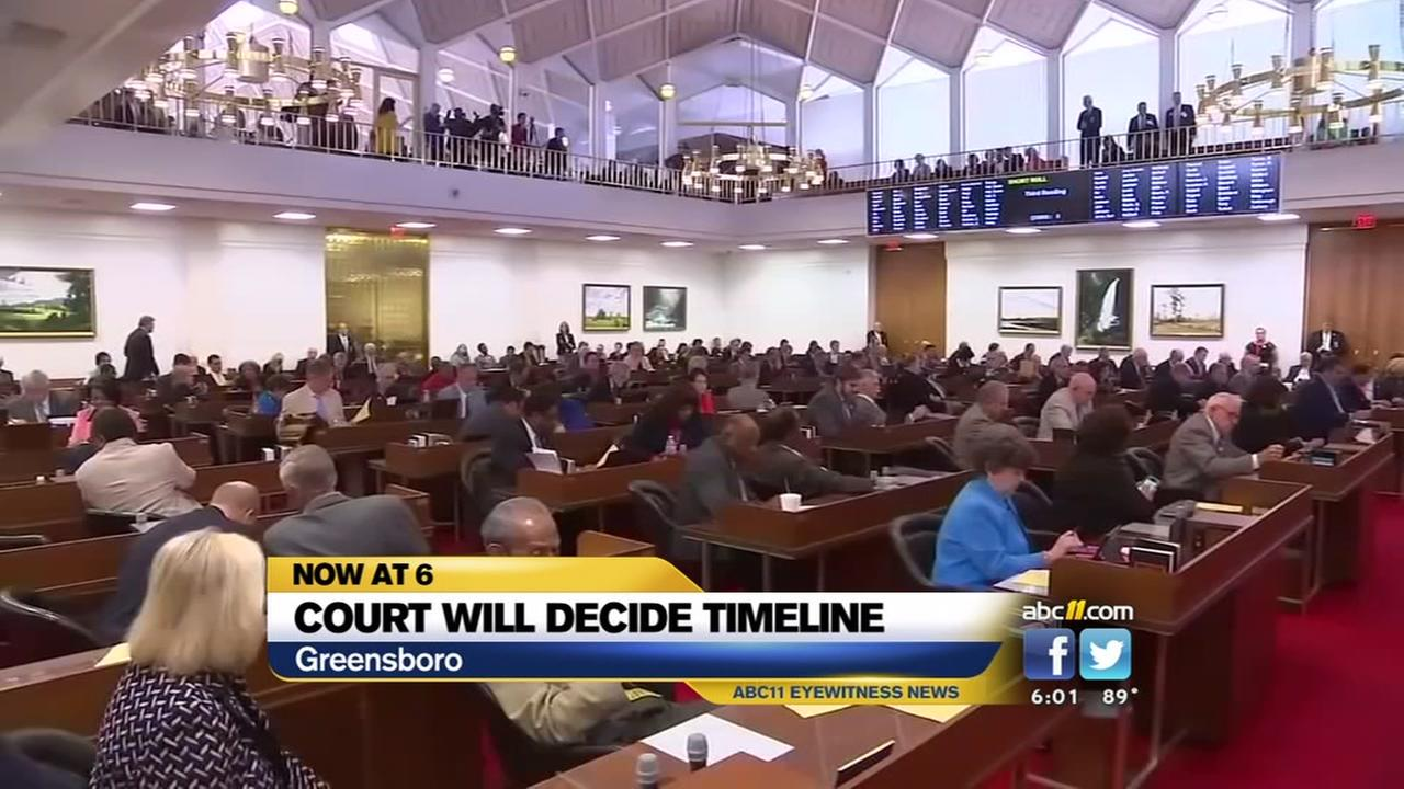 North Carolina redistricting arguments heard by judges