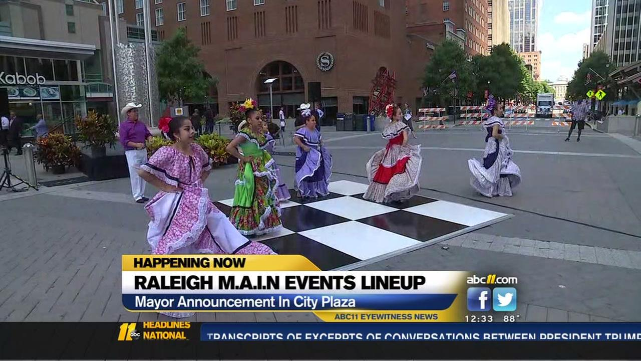 Raleigh mayor proclaims September: M.A.I.N. Events Month