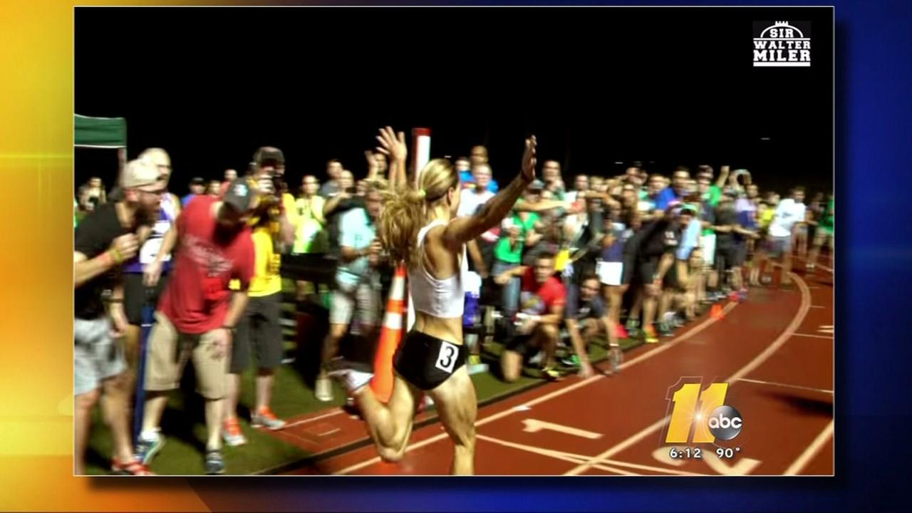 Its the Fourth Annual Sir Walter Miler.