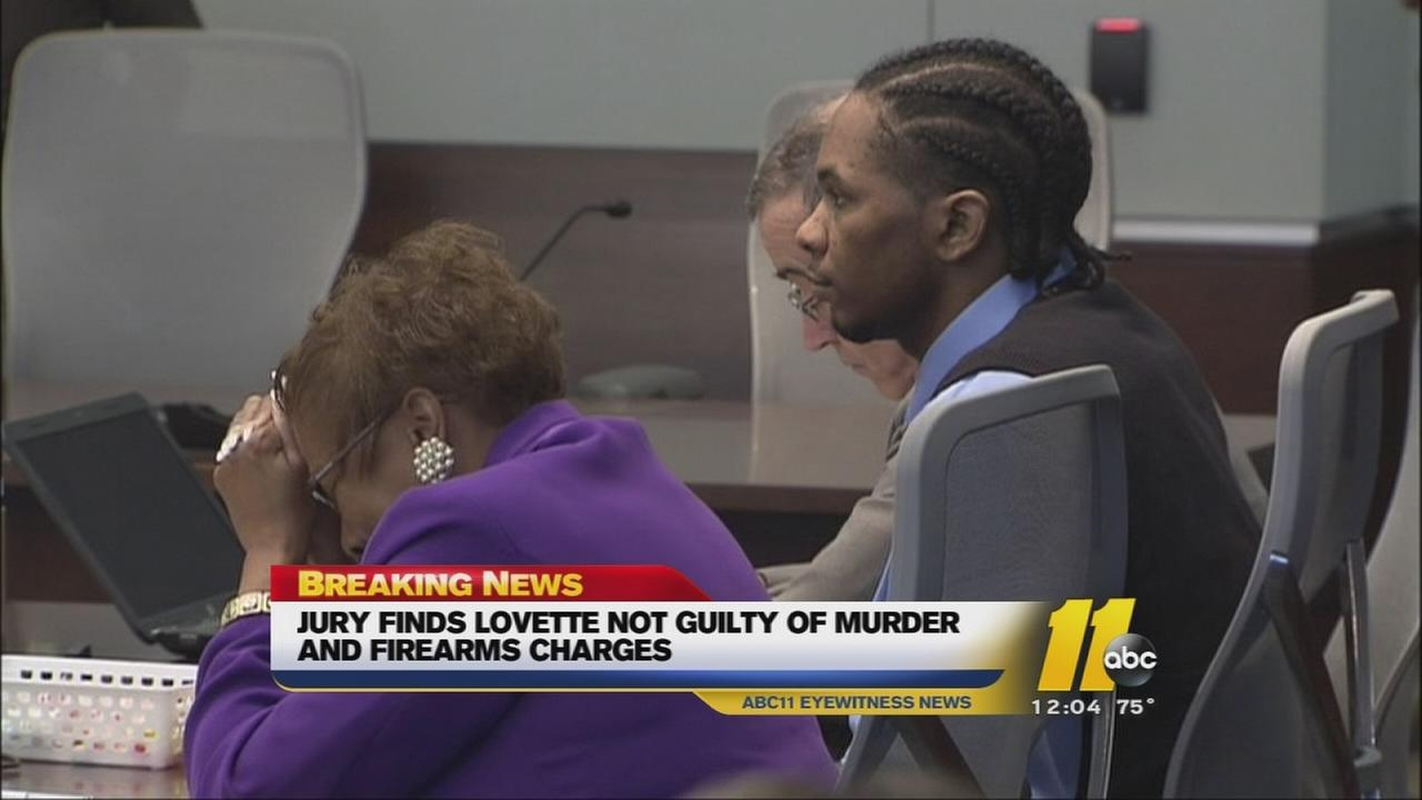 Lovette found not guilty in second murder trial