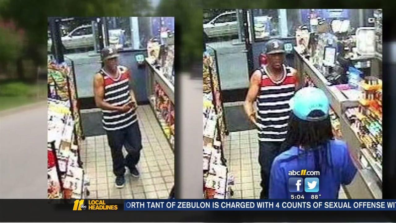 Durham burglary spree suspect seen on video