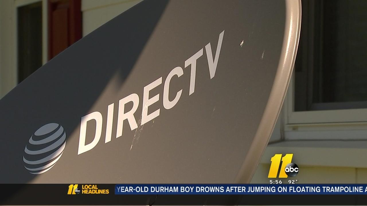 DirecTV technician damages home
