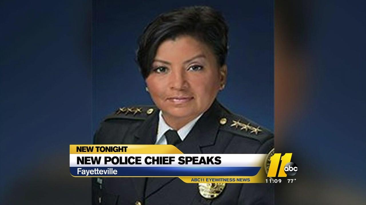 Fayettevilles new police chief easing into role