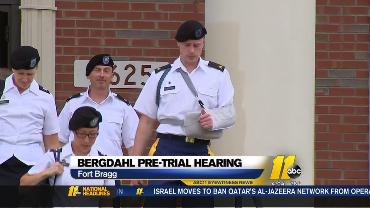 Bergdahl returns to Fort Bragg