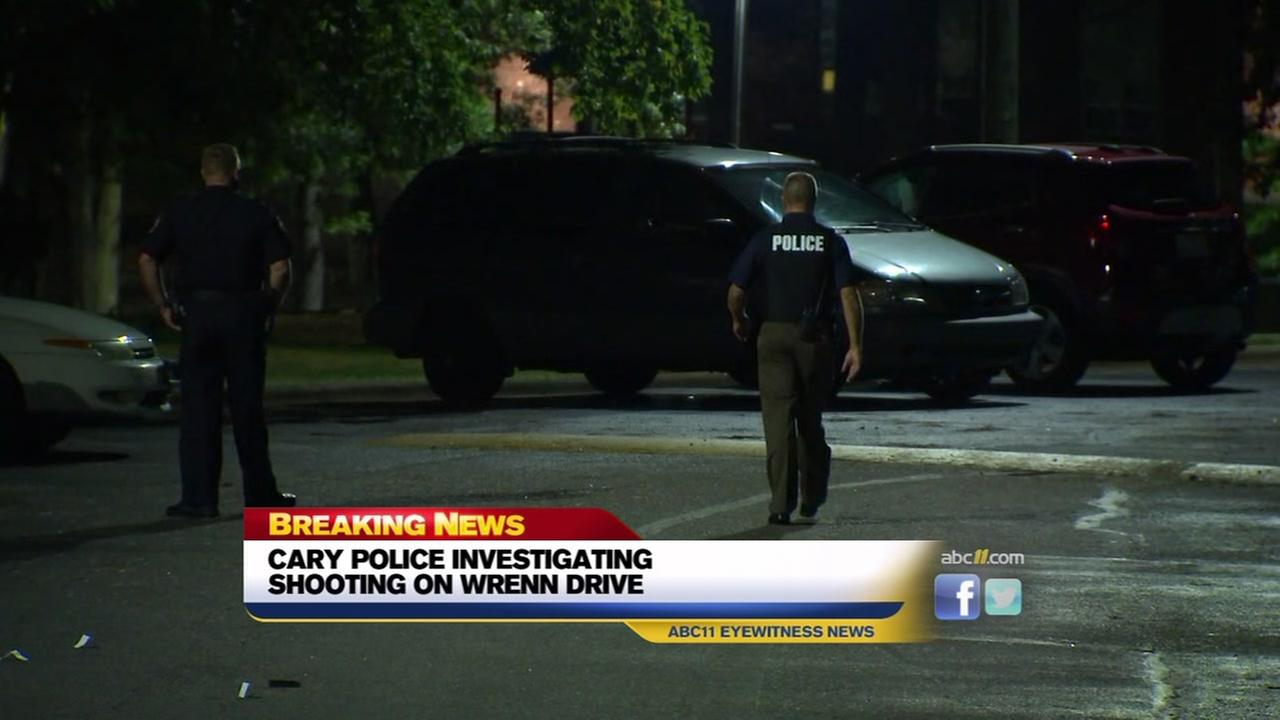 Cary Police investigate shooting