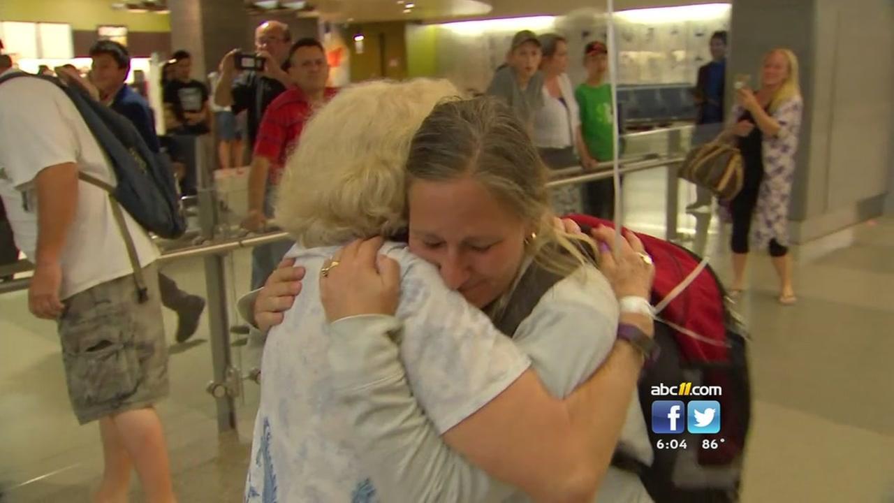 Wake resident on Honduras return