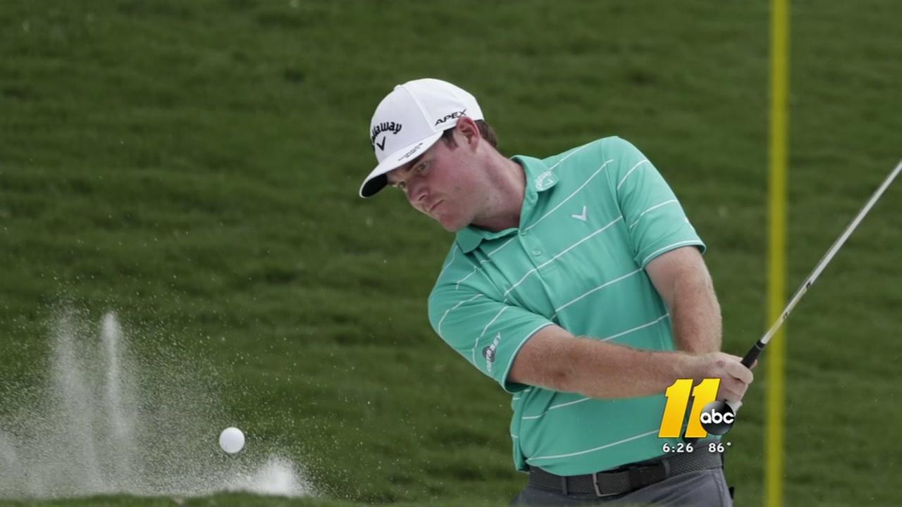 Raleigh golfer among leaders at PGA Championship