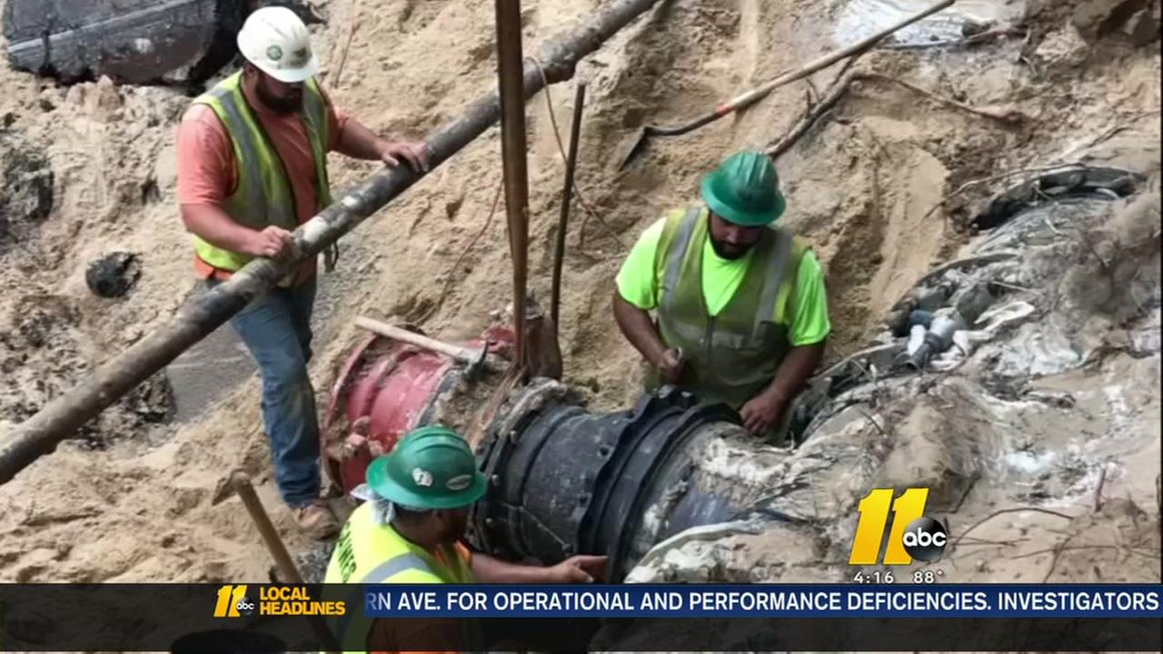 Fort Bragg releasing non-essential personnel because of water main break