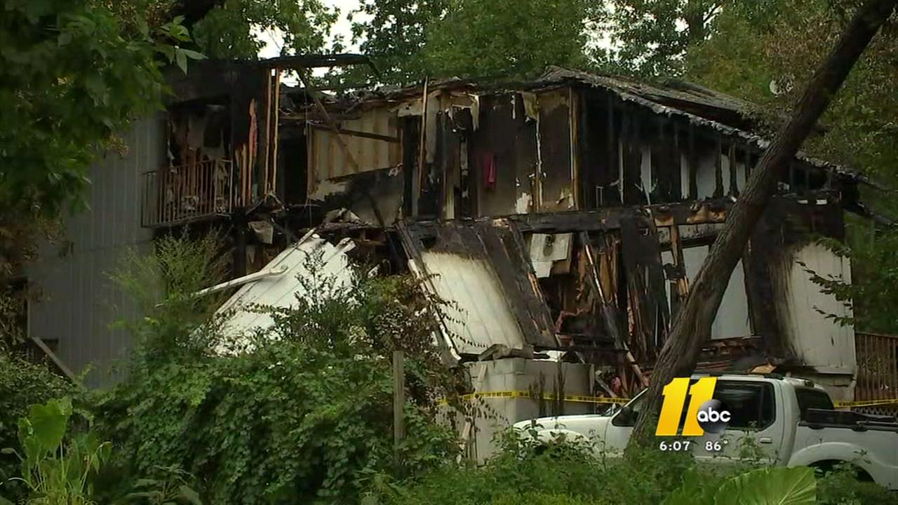Grill tank explosion brings down Raleigh home