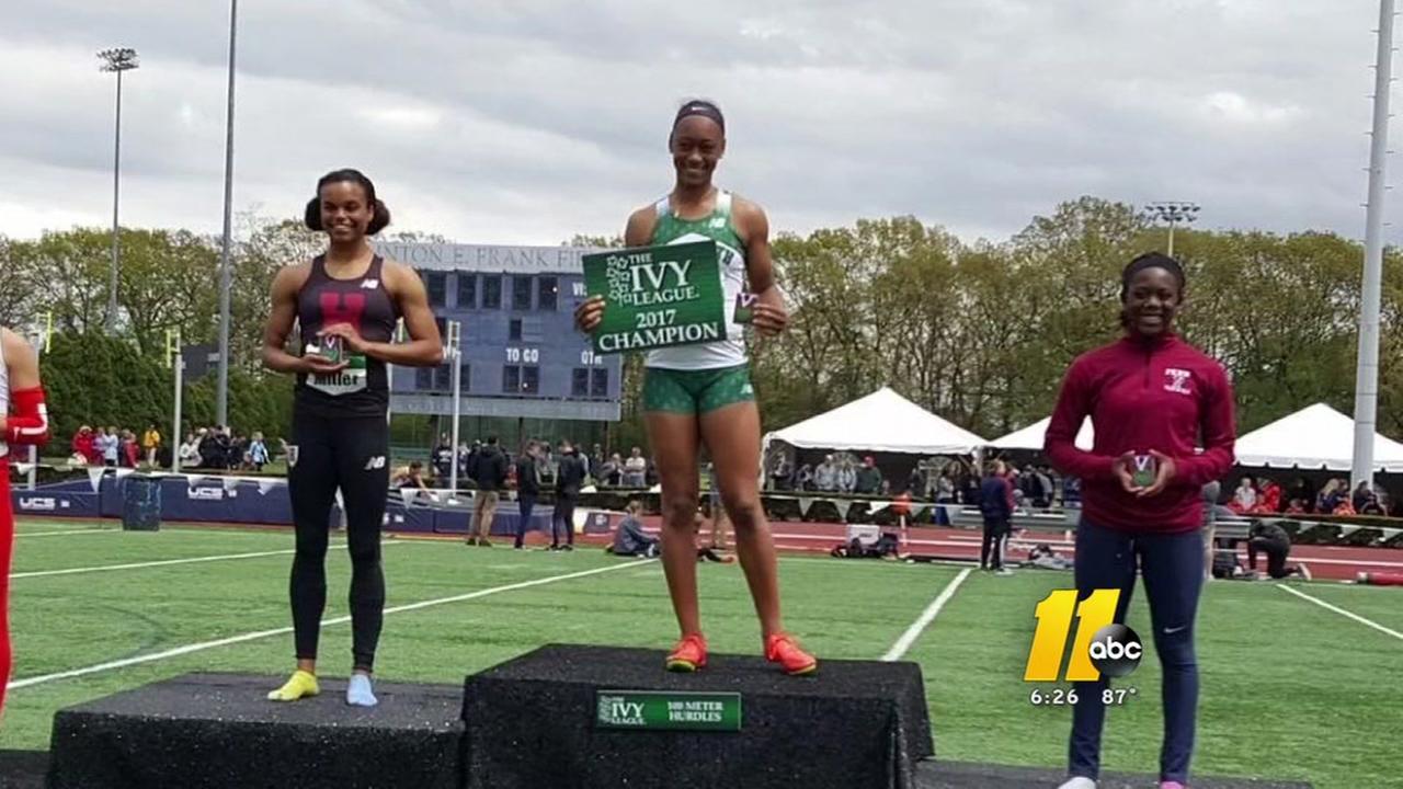 Durham track star ChaMia Rothwell sets record