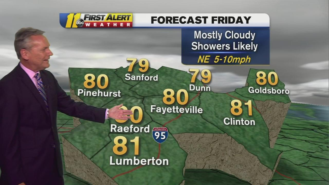 ABC11 First Alert Forecast