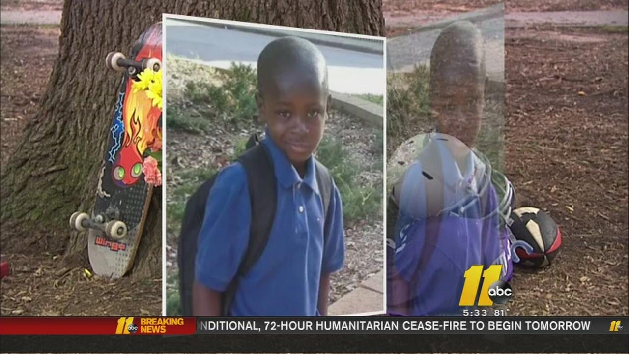 Raleigh mom prepares to bury 8-year-old hit by car