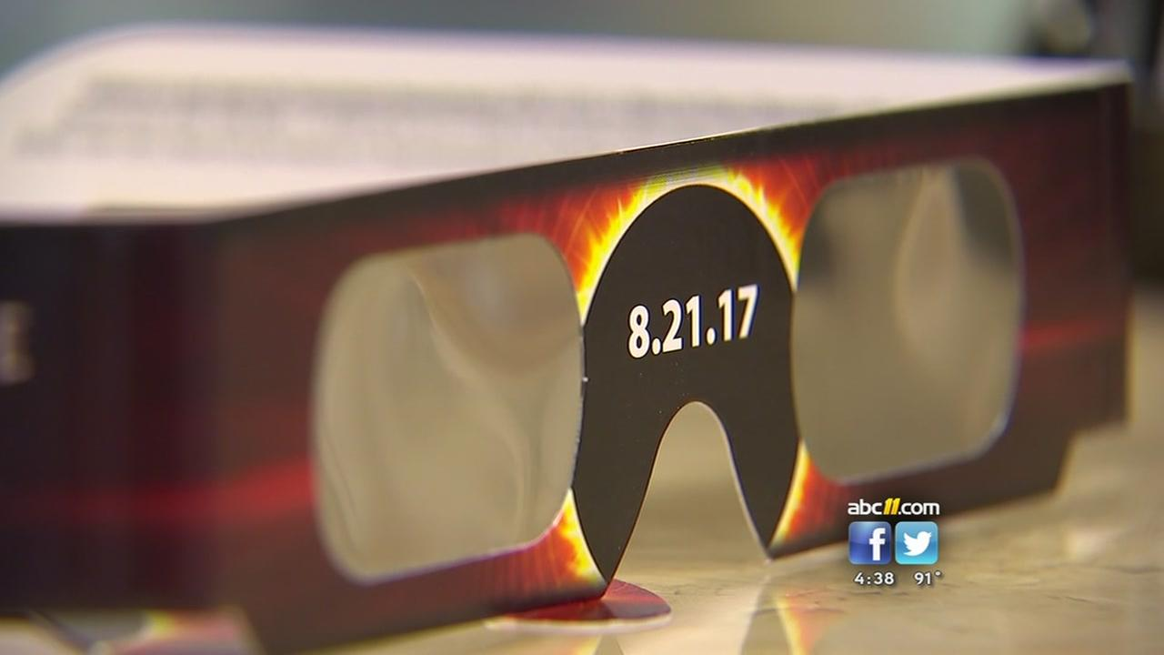Eclipse glasses selling out fast