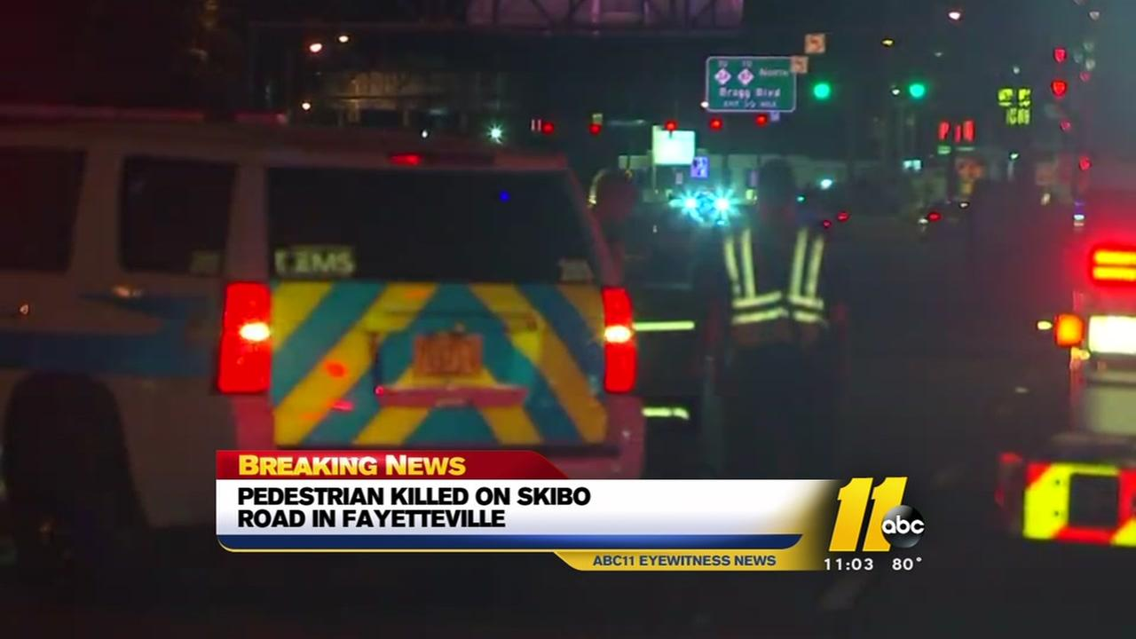 Pedestrian killed on Skibo Road in Fayetteville
