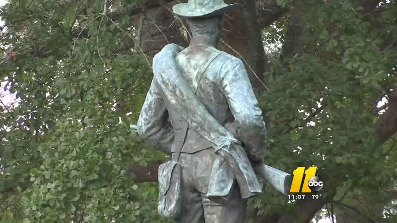 Fayetteville home to two Confederate monuments