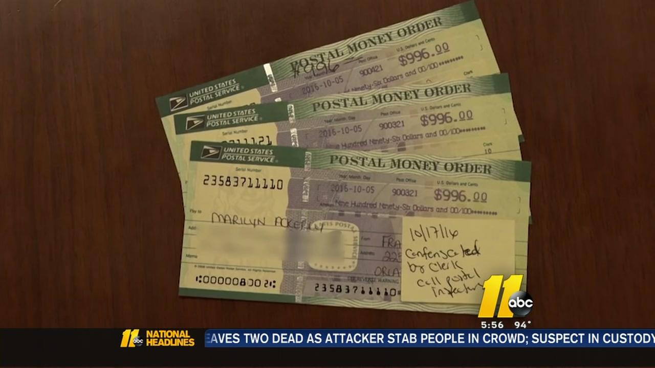 Woman victim of secret shopper scam