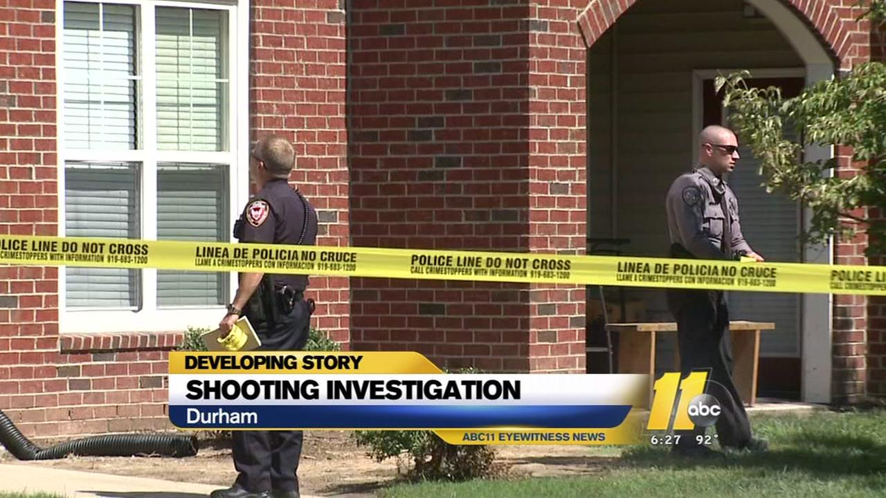 Shooting investigation in Durham