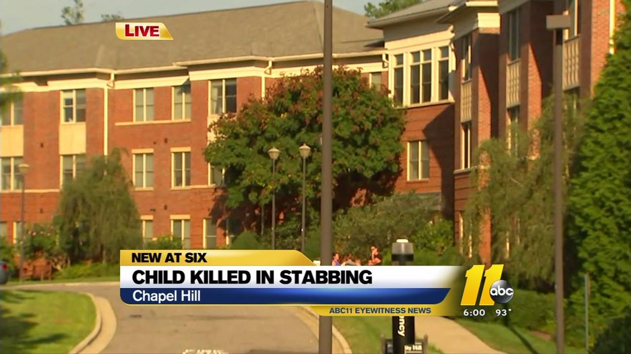Child killed in domestic-violence stabbing