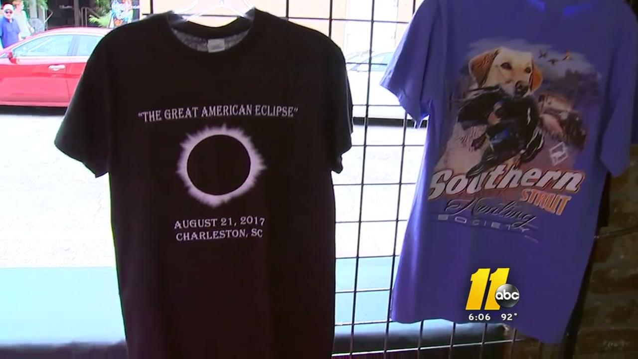 Charleston preps for the solar eclipse