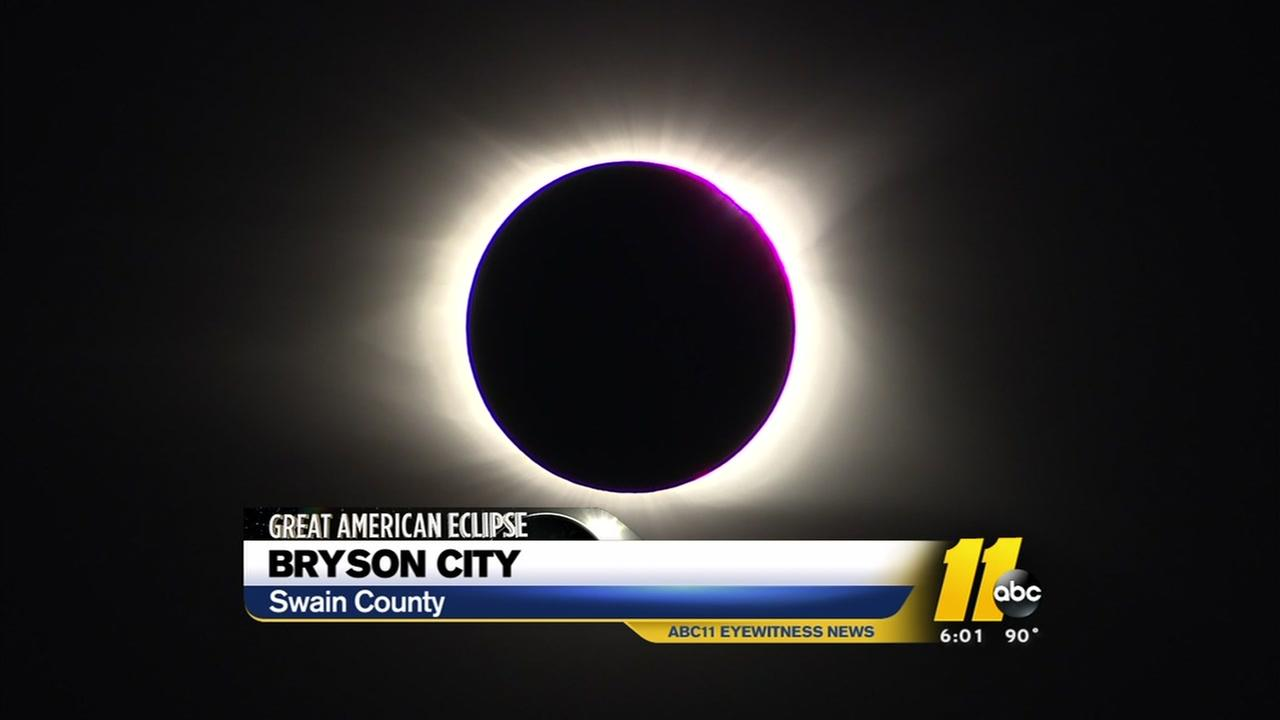 North Carolina sees total solar eclipse
