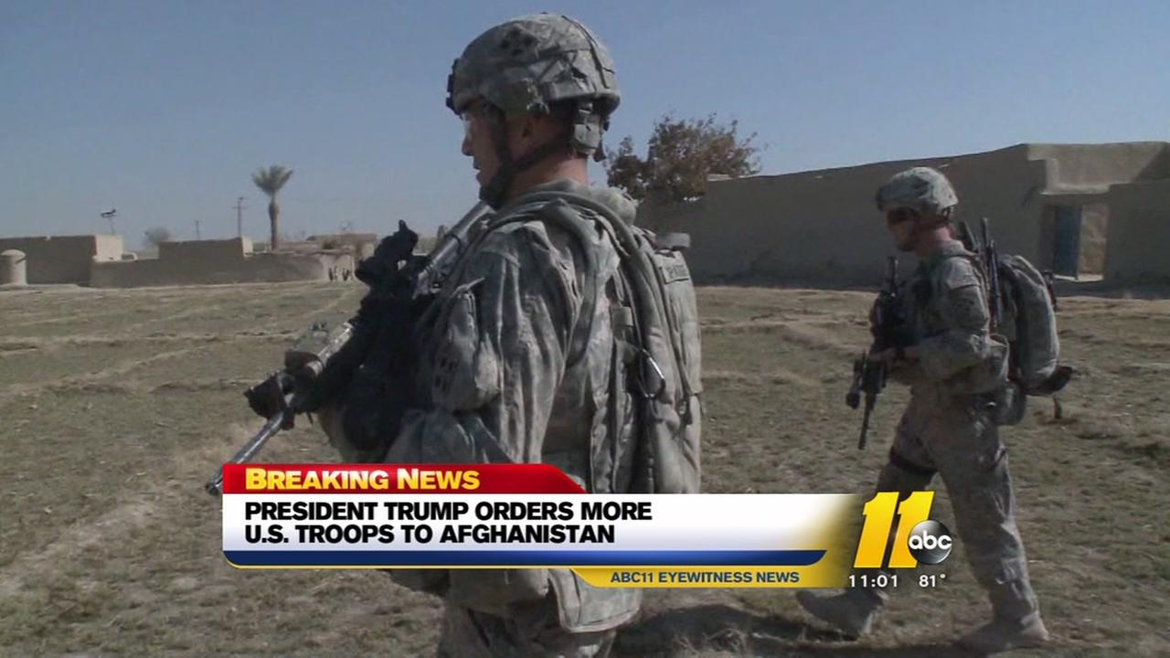 President Donald Trump outlines Afghanistan strategy