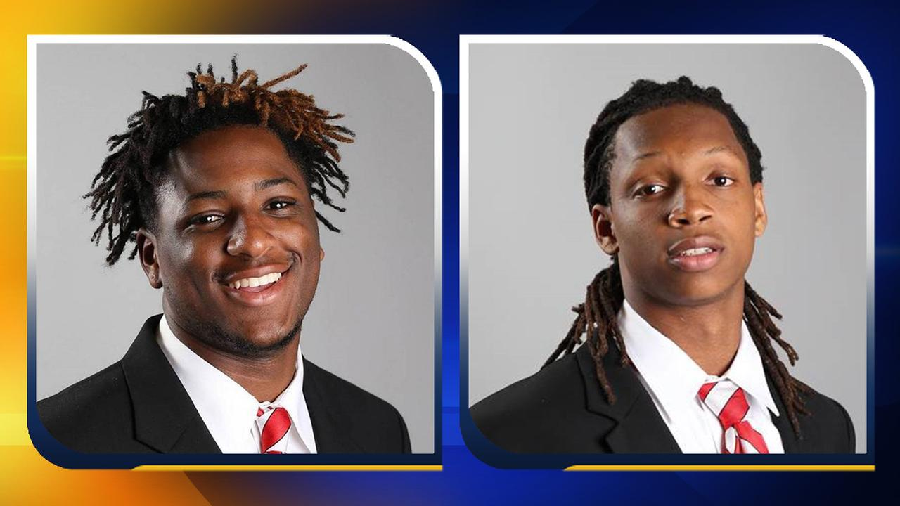 Kevince Brown and Antoine Thompson