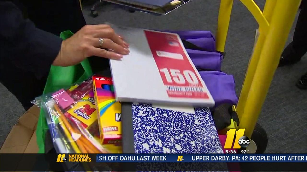 Register of Deeds Office collects school supplies for Cumberland County students