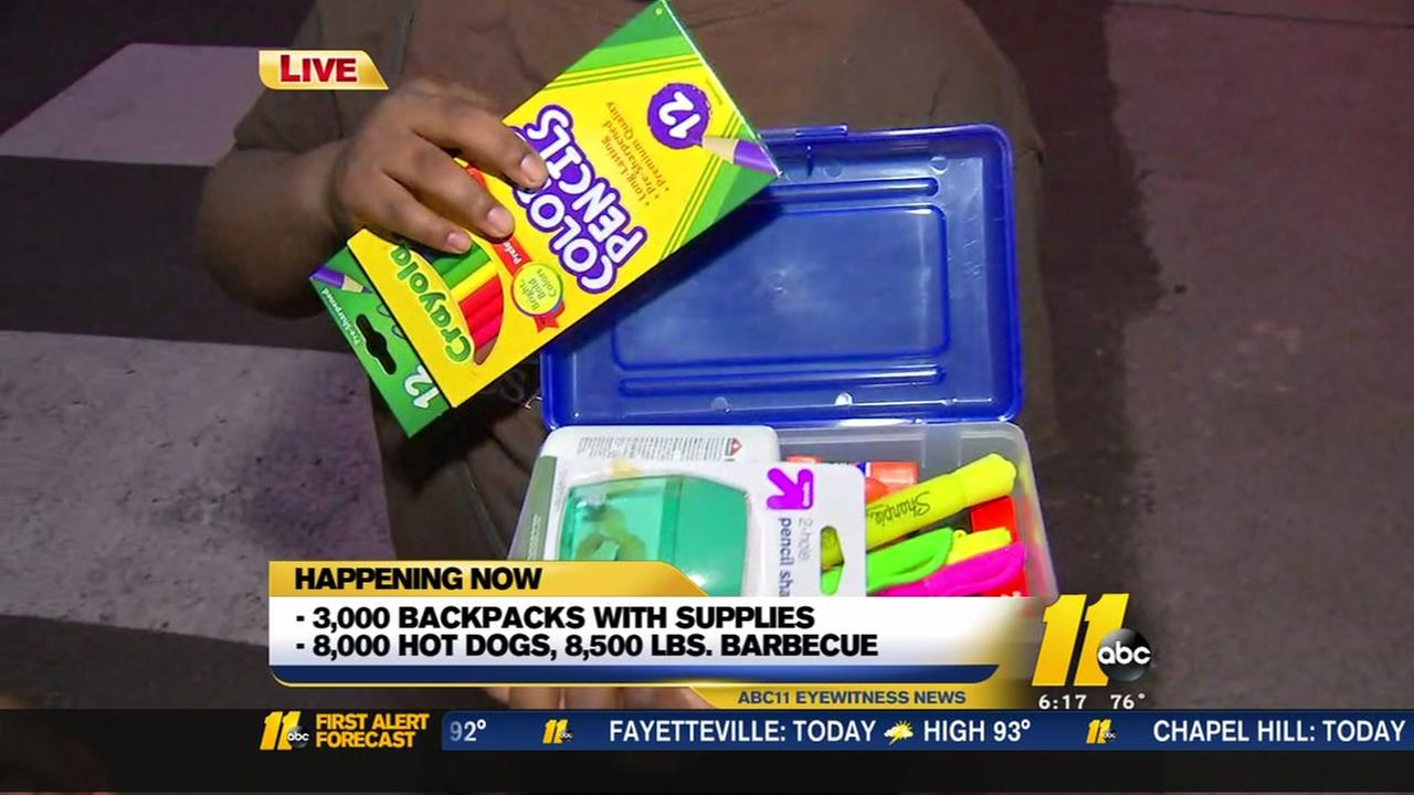 Durham Rescue Mission giving away 3,000 backpacks, school supplies to kids in need