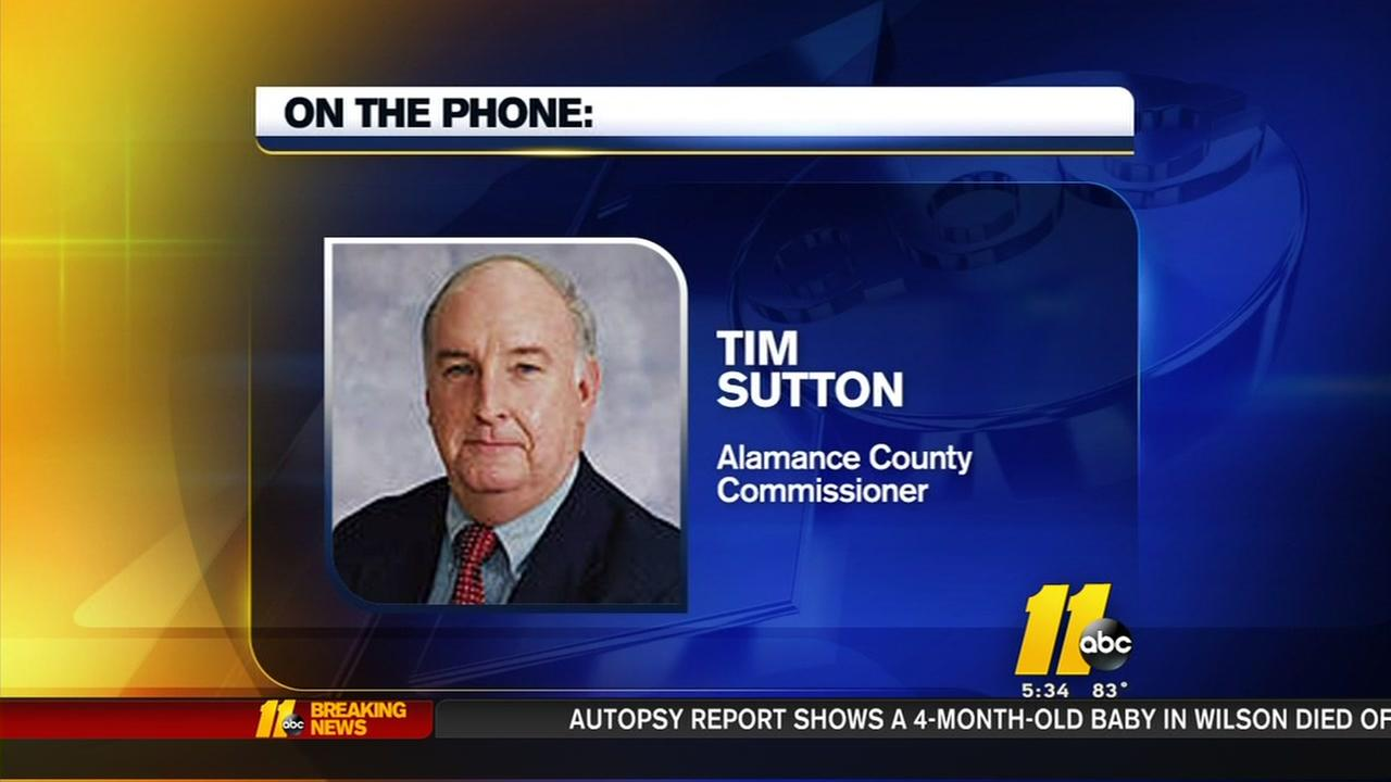 Alamance County Commissioner discusses comments made Monday