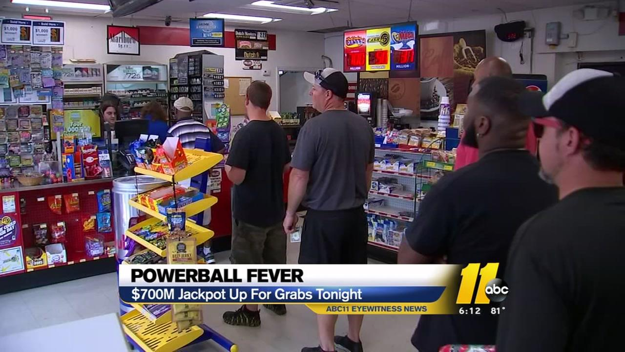 Massive Powerball jackpot drawing nears