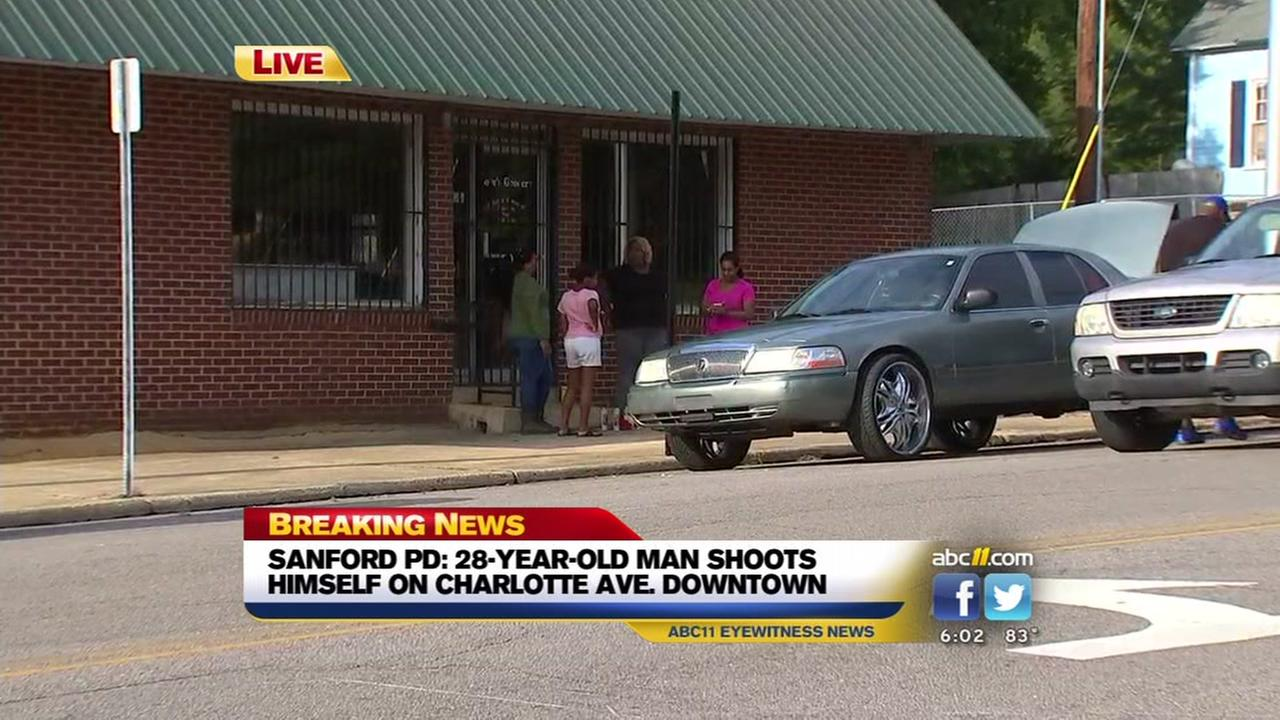 Man dies of self-inflicted gunshot wound