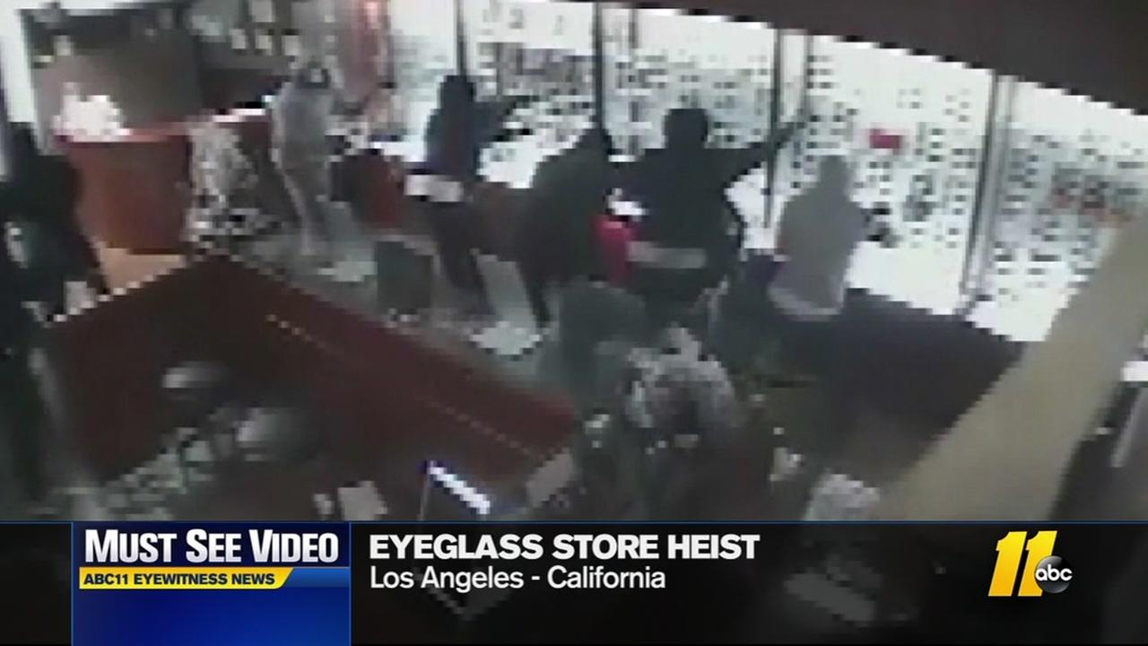 CA Eyeglass store heist