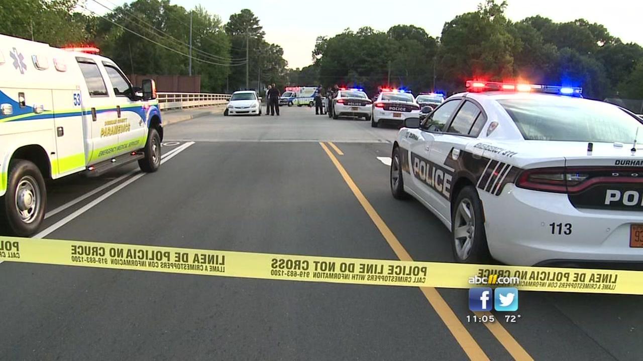 Durham police investigate shooting on Broad Street Bridge