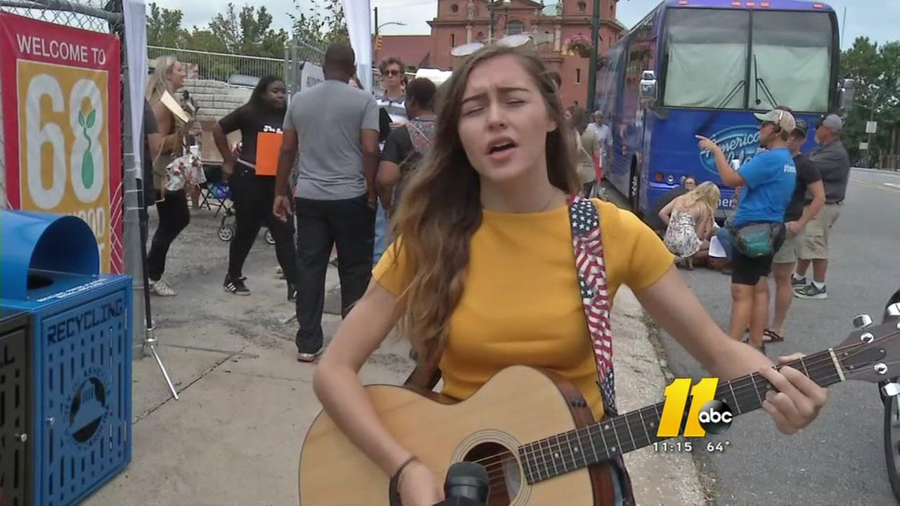 Triangle residents compete for a chance to become the next American Idol