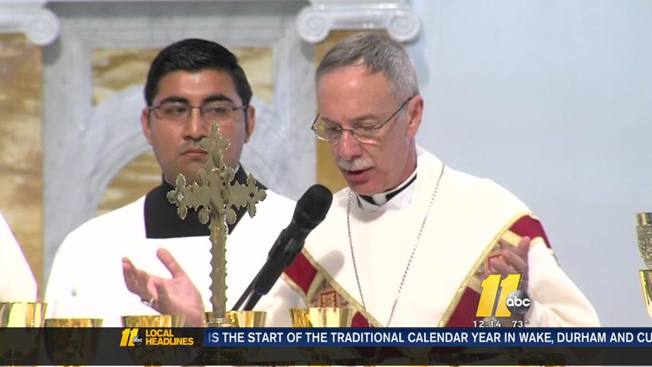 Raleighs new Bishop to be officially installed Tuesday