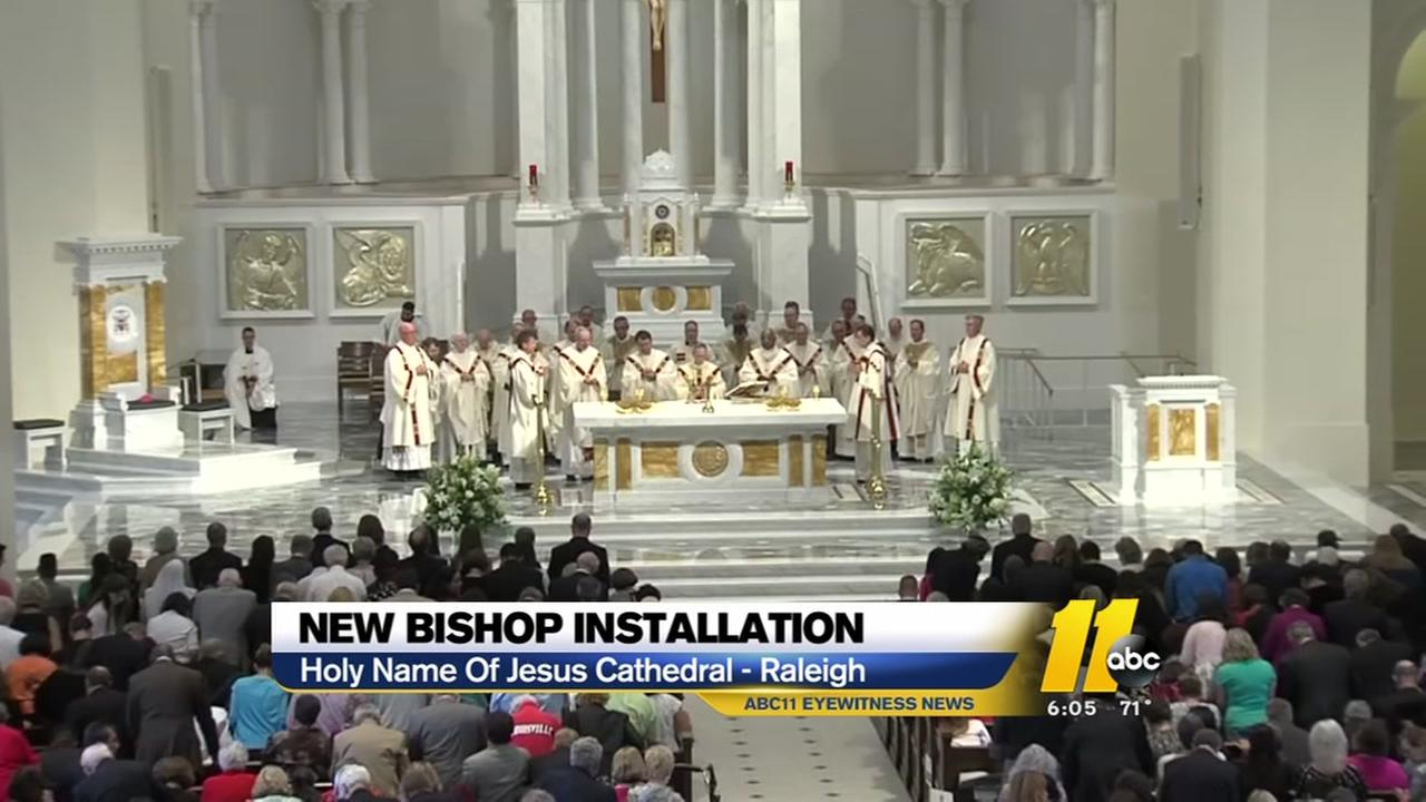 New Bishop installed in Raleigh