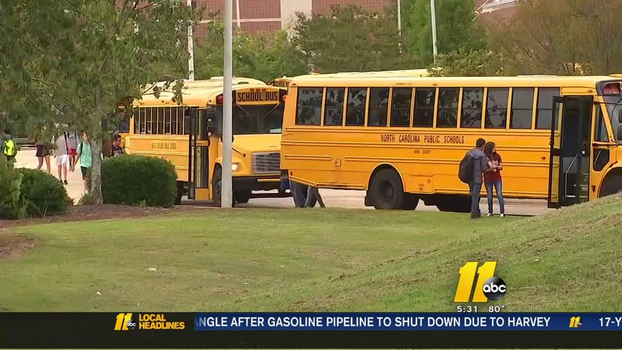 Wake Schools dealing with overcrowded school buses