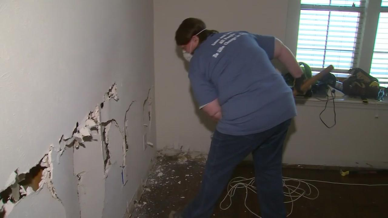 Labor Day of Love helps clean up Texas plantation