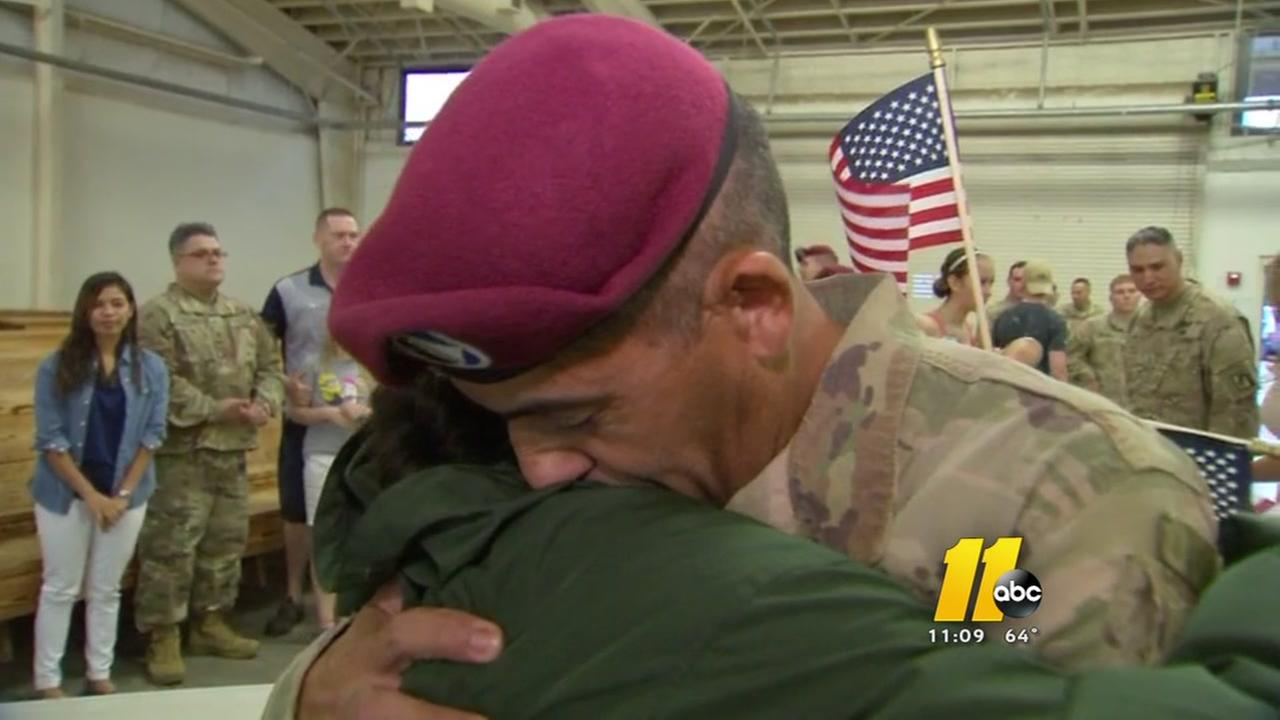 18th Airborne returns home