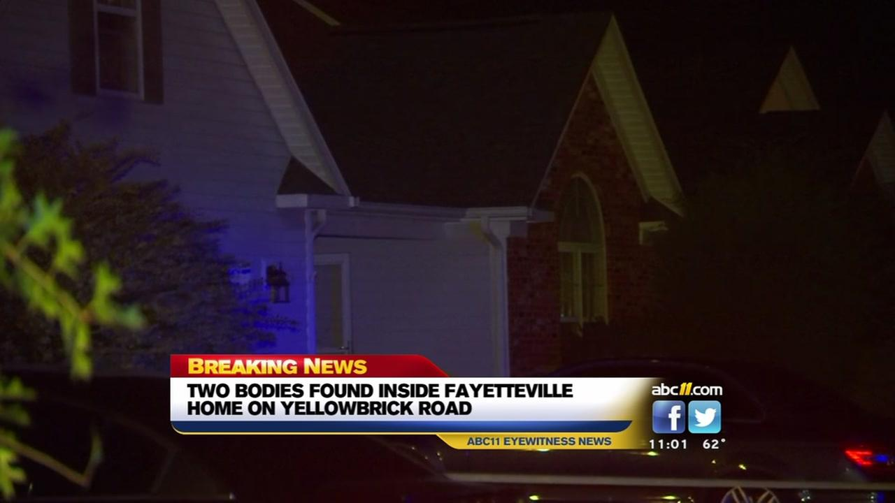 Two found dead in Fayetteville home