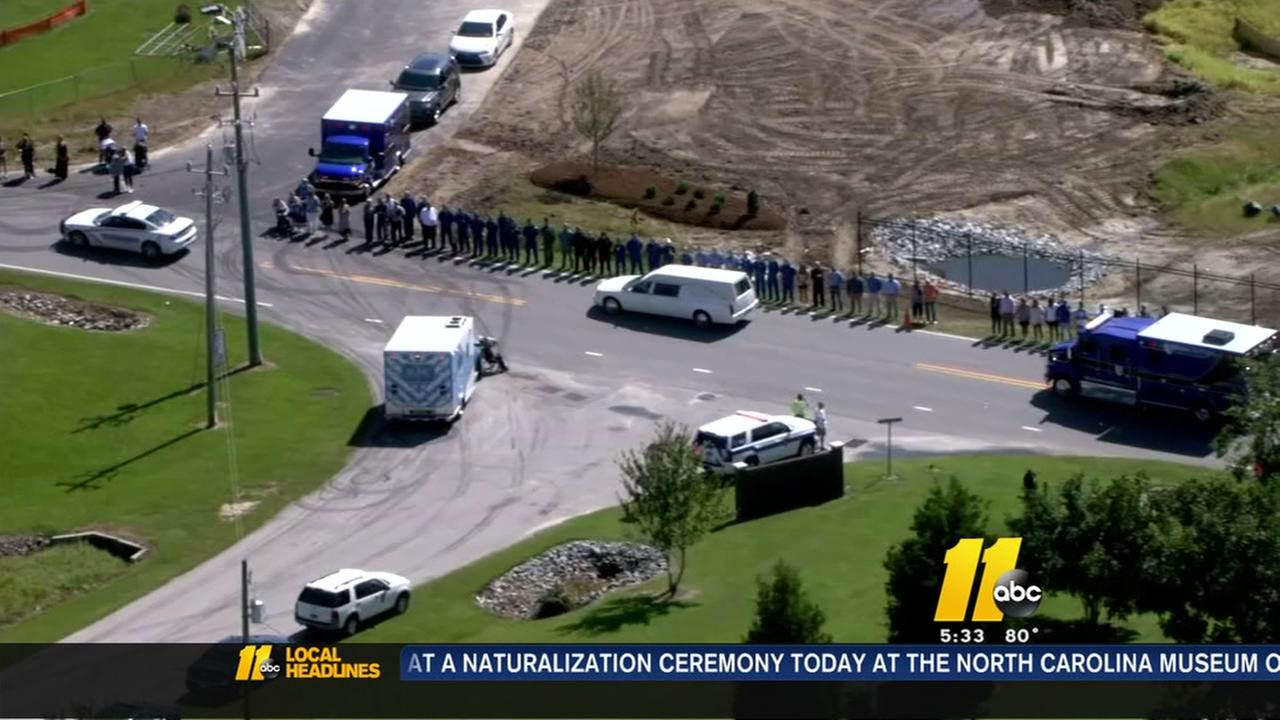 Remains of Duke Life Flight crew escorted home