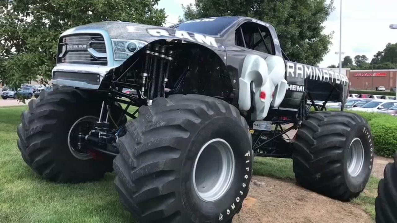 Fastest monster truck visits Wake Forest