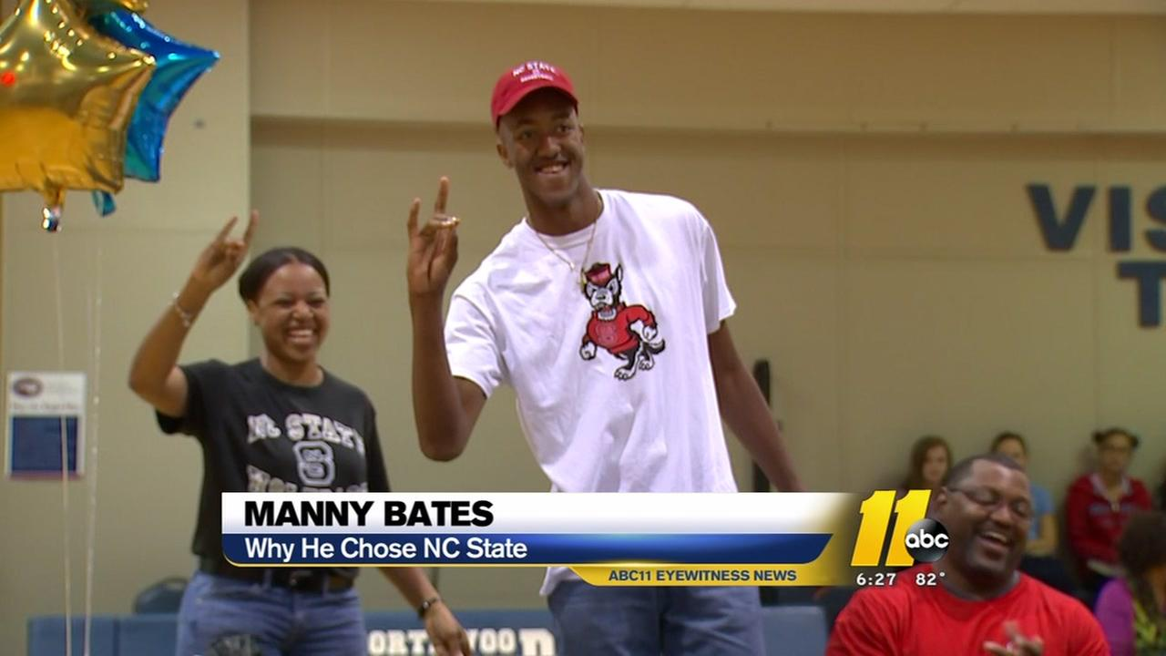 Top 100 recruit Manny Bates chooses NC State